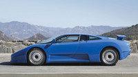 Perfecto ejemplar del raro Bugatti EB110 a subasta