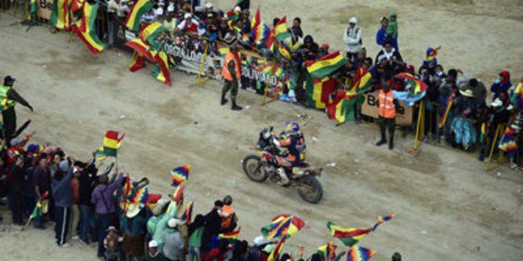 Dakar 2015: Inicio y fin de la etapa maratón española