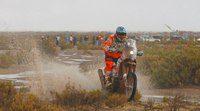 Dakar 2015, etapa 8: Victoria en motos de Quintanilla y de González en quads