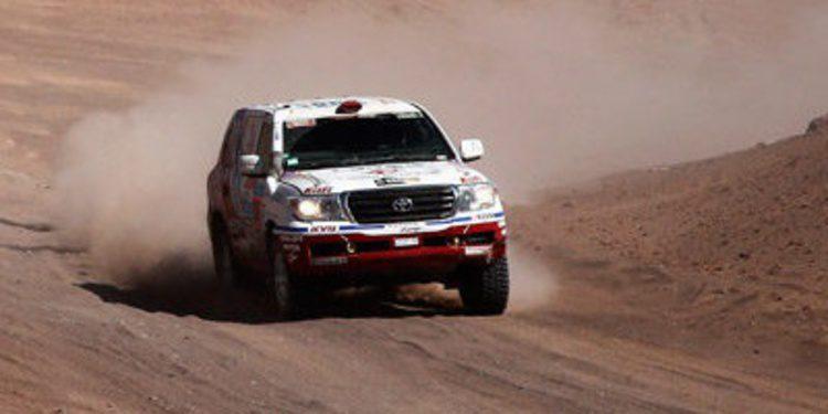 Dakar 2015: Etapa 9 entre Iquique y Calama