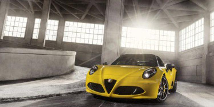 Presentación oficial del nuevo Alfa Romeo 4C Spider