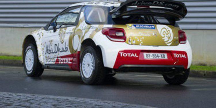 Los nuevos colores del Citroën DS3 WRC en 2015