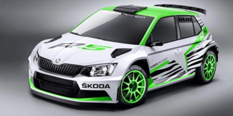El Skoda Fabia R5 será homologado el 1 de abril