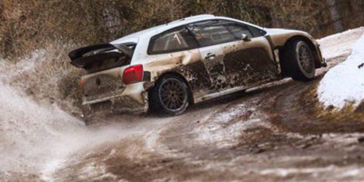 Últimos test para preparar el Rally de Montecarlo