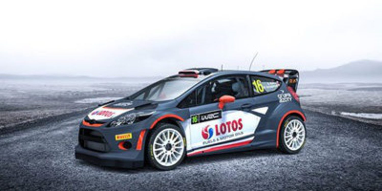 Decoración del Ford Fiesta RS WRC de Robert Kubica