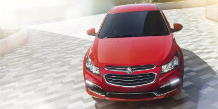 Holden aplica mejoras al Chevrolet Cruze