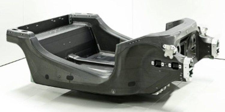 McLaren muestra el chasis de carbono del Sports Series