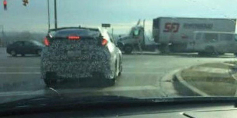Cazada supuesta mula de la versión americana del Honda Civic Type-R