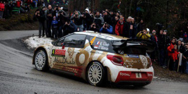 Sebastien Loeb domina el shakedown del Rally de Montecarlo