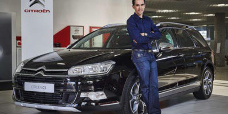 Alberto Contador firma una alianza con Citroën