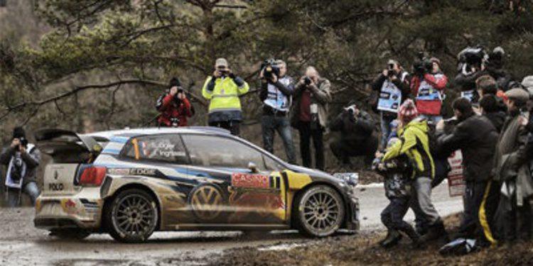 Loeb y Ogier siguen su guerra en el 'Monte' con Kubica de 'infiltrado'