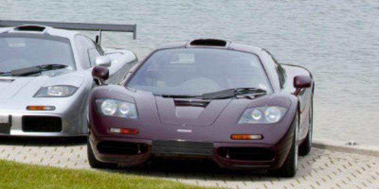 A la venta el McLaren F1 de Rowan Atkinson