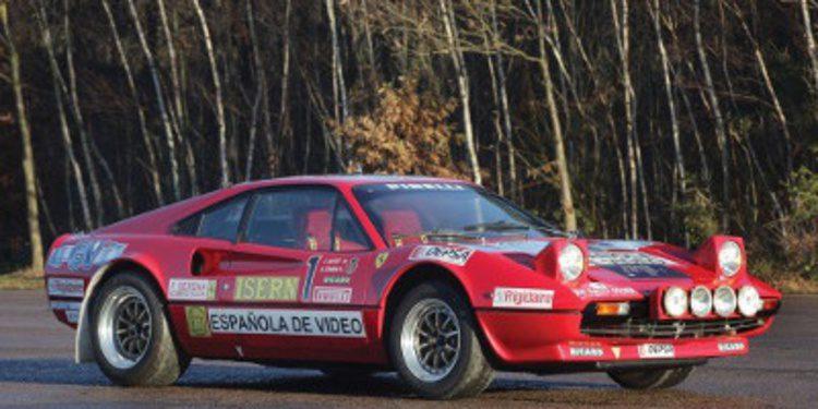El Ferrari 308 GTB Grupo B de Zanini a subasta
