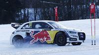 Mattias Ekström y Felix Neureuther disfrutan con el Audi S1 EKS RX