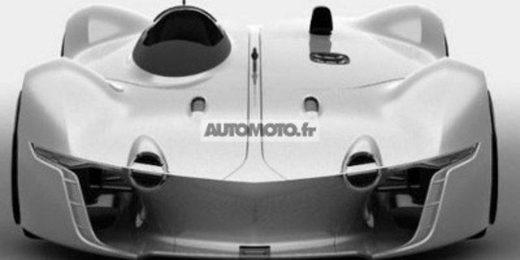 A pesar de la filtración, Renault lanza el teaser del Alpine Vision Gran Turismo