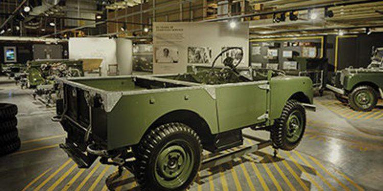 Recreada línea de producción del Land Rover Defender I
