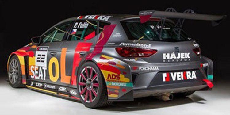 Petr Fulín cambia al nuevo SEAT León para 2015
