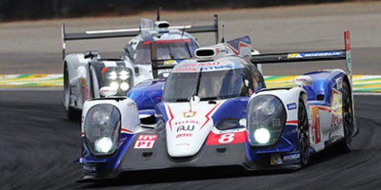 Toyota confirma sus pilotos para el WEC 2015