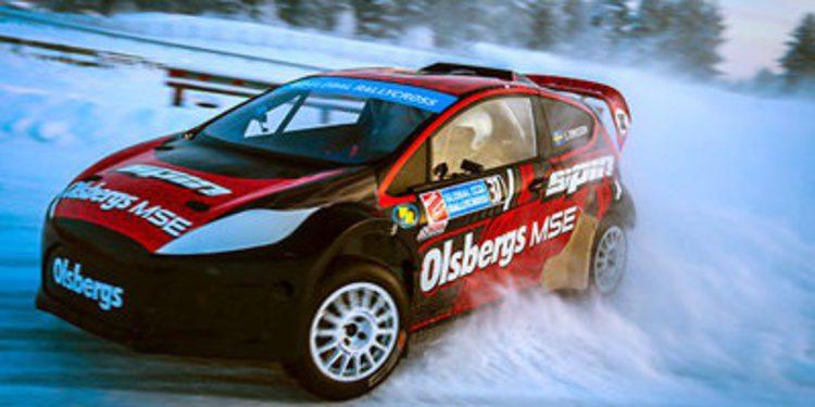 El 'RallyX On Ice' acompañará al Rally de Suecia