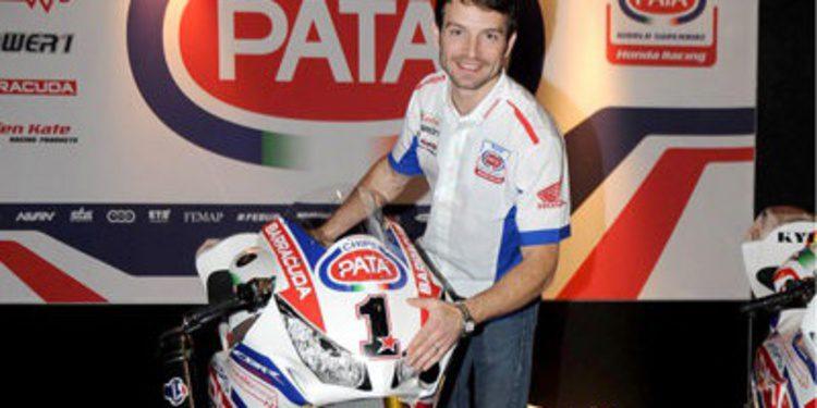 Sylvain Guintoli acusa la caída del test en Jerez