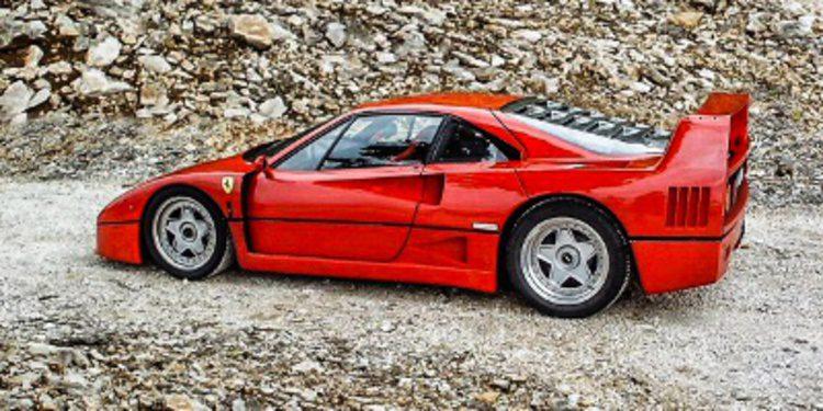 Restauración artesanal de un Ferrari F40 en España