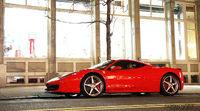 Cementerio de chatarra de Ferrari y Lamborghini
