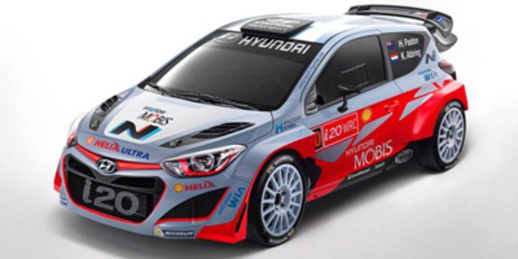 Kevin Abbring con el Hyundai i20 WRC en cuatro citas