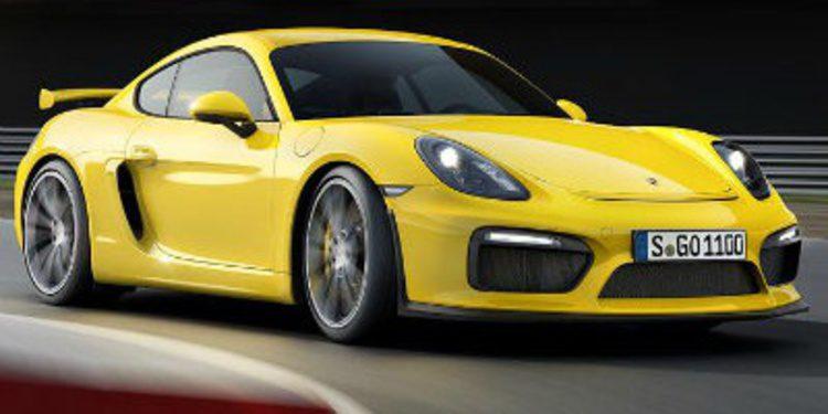 Porsche presenta el espectacular Cayman GT4