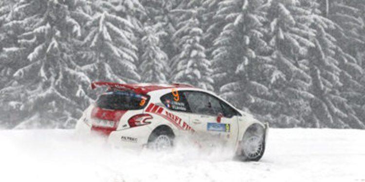 El Rally de Liepaja pone continuidad a la nieve en el ERC