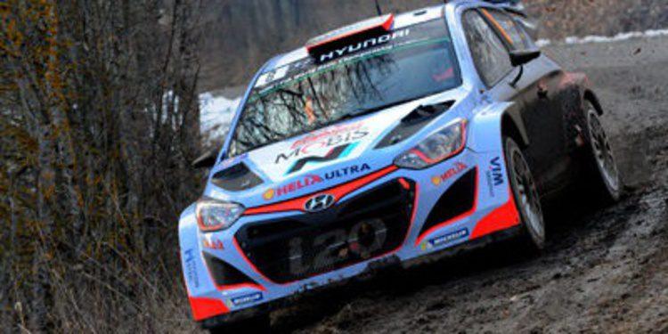 Los pesos 'pesados' del WRC son los Hyundai i20 WRC