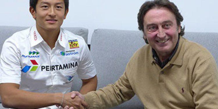 Rio Haryanto se une a Campos Racing en GP2