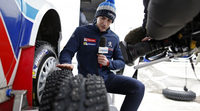 Craig Breen con todo de cara en el Rally Liepaja