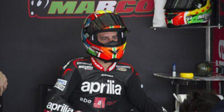 Aprilia podría intercambiar a Marco Melandri y Jordi Torres