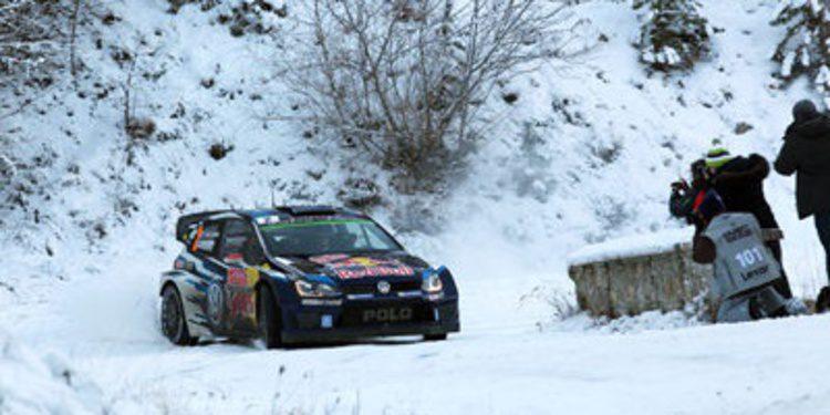 Nieve y emoción, ingredientes del Rally de Suecia
