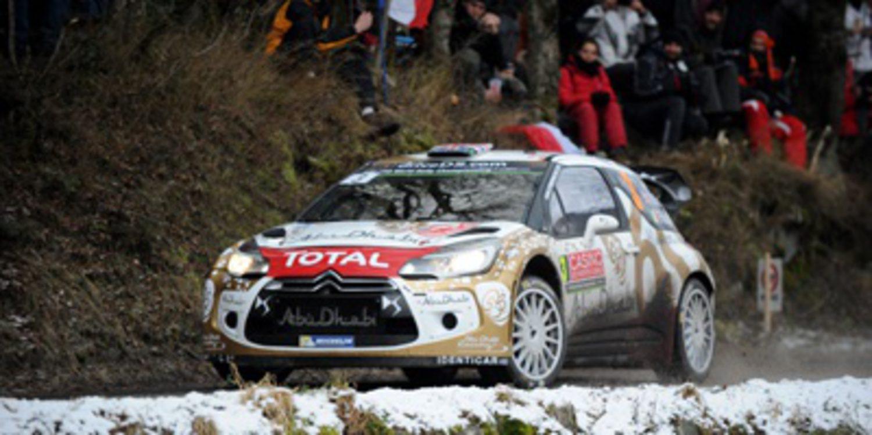 Nieve y hielo para los Citroën DS3 WRC en Suecia