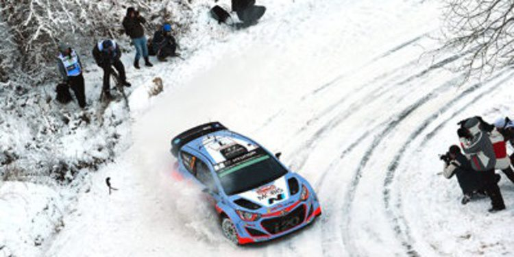 Tres pilotos y alineación inédita de Hyundai en Suecia