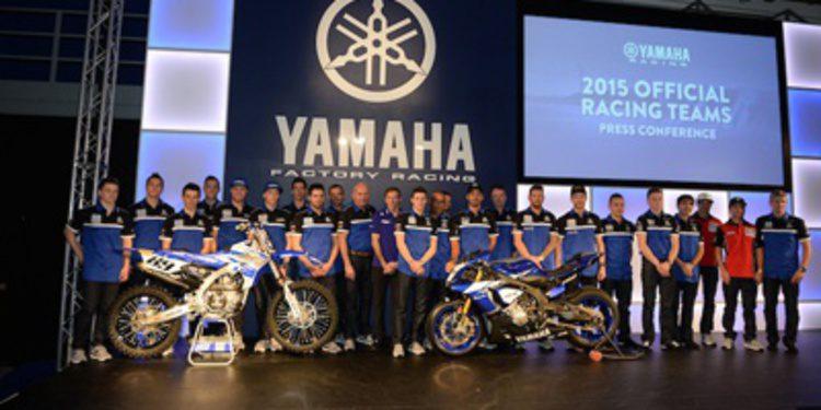 Presentación del Yamaha Factory Racing de MXGP