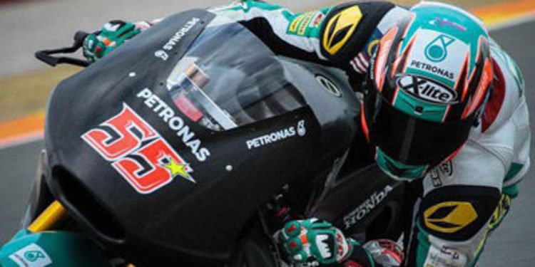 Más lluvia en el cierre del test de Moto2 y Moto3 en Cheste