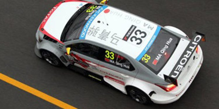 Ma Qing Hua con Citroën Racing en el WTCC