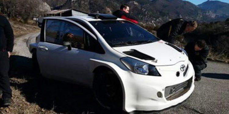 Nuevo test del Toyota Yaris WRC en asfalto y nieve