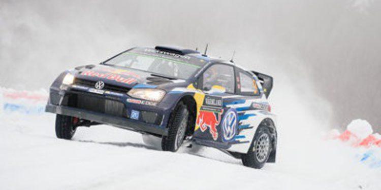 Vuelco total en el Rally de Suecia con Andreas Mikkelsen como líder