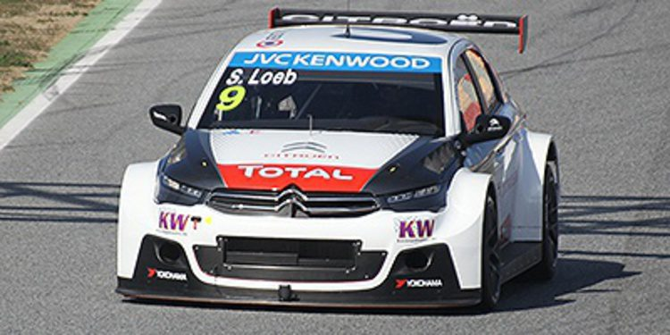 Citroën domina el test oficial en Barcelona
