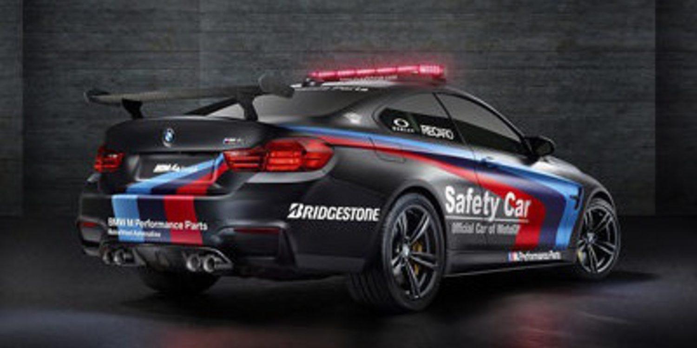 El BMW M4 Coupé en la flota de Safety Car de MotoGP