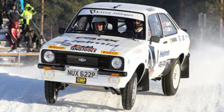 Petter Solberg gana el Rally de Suecia de Históricos