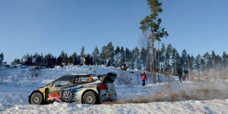El Rally de Suecia se decide a cara de perro en el Power Stage
