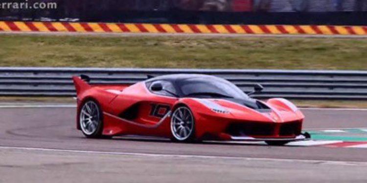 Vídeo: Sebastian Vettel pilota el Ferrari FXX K en Fiorano