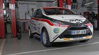 Primeras fotos del Toyota Aygo Copa Kobe Motor 2015