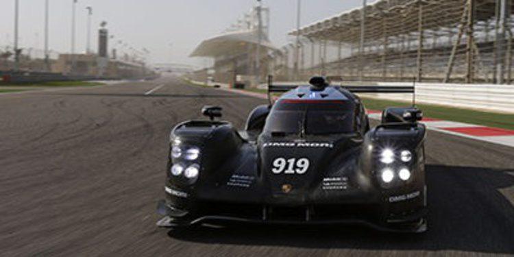 Porsche se prepara para el WEC en Bahréin