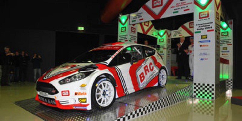 Giandomenico Basso repite con el Ford Fiesta R5 GLP