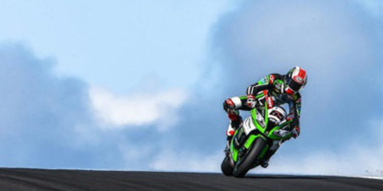 Jonathan Rea consigue la superpole en Australia 'por accidente'